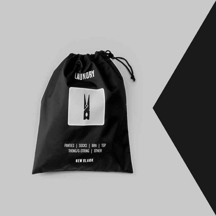 sacchetto porta biancheria