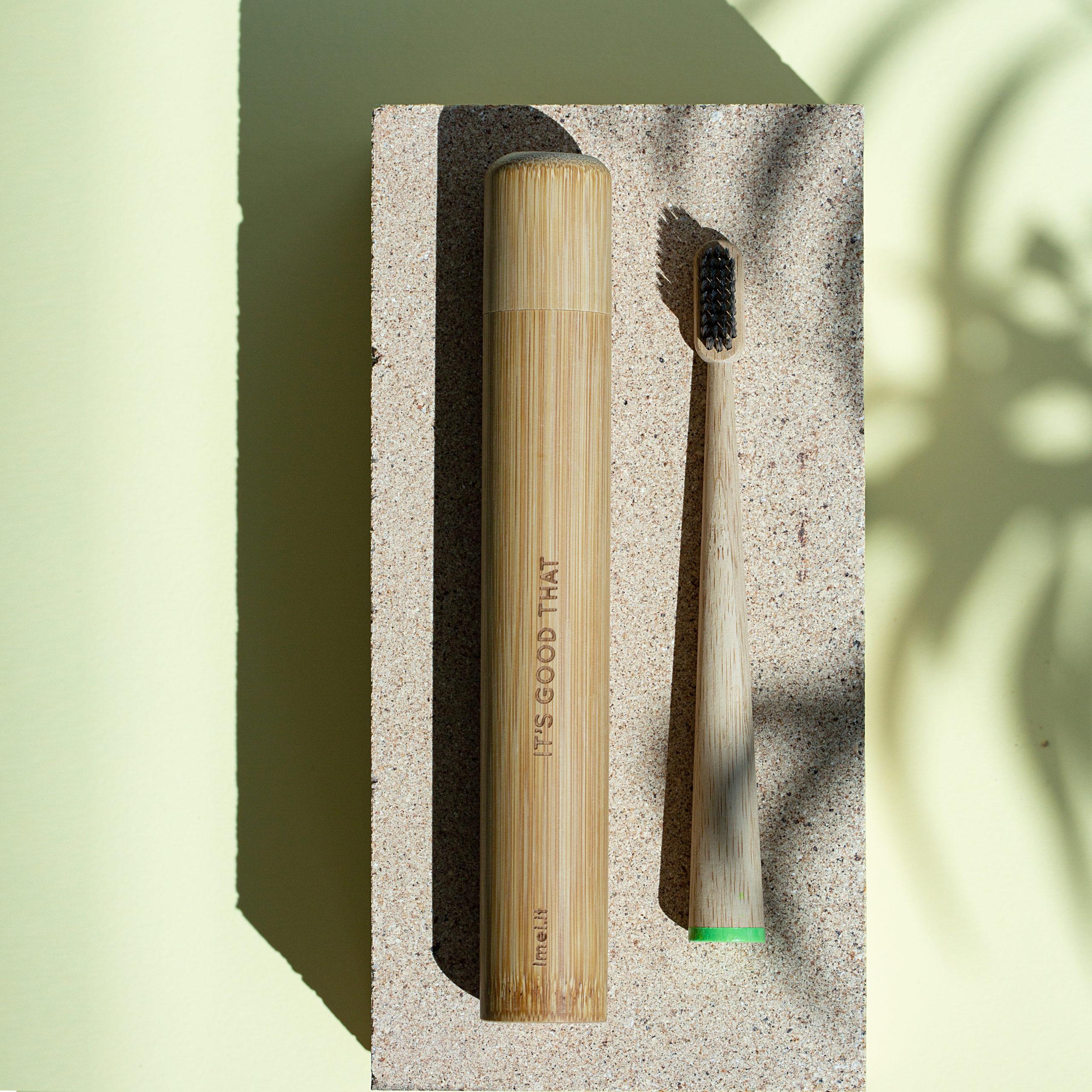 Set eco sostenibile spazzolino eco-friendly toothbrush