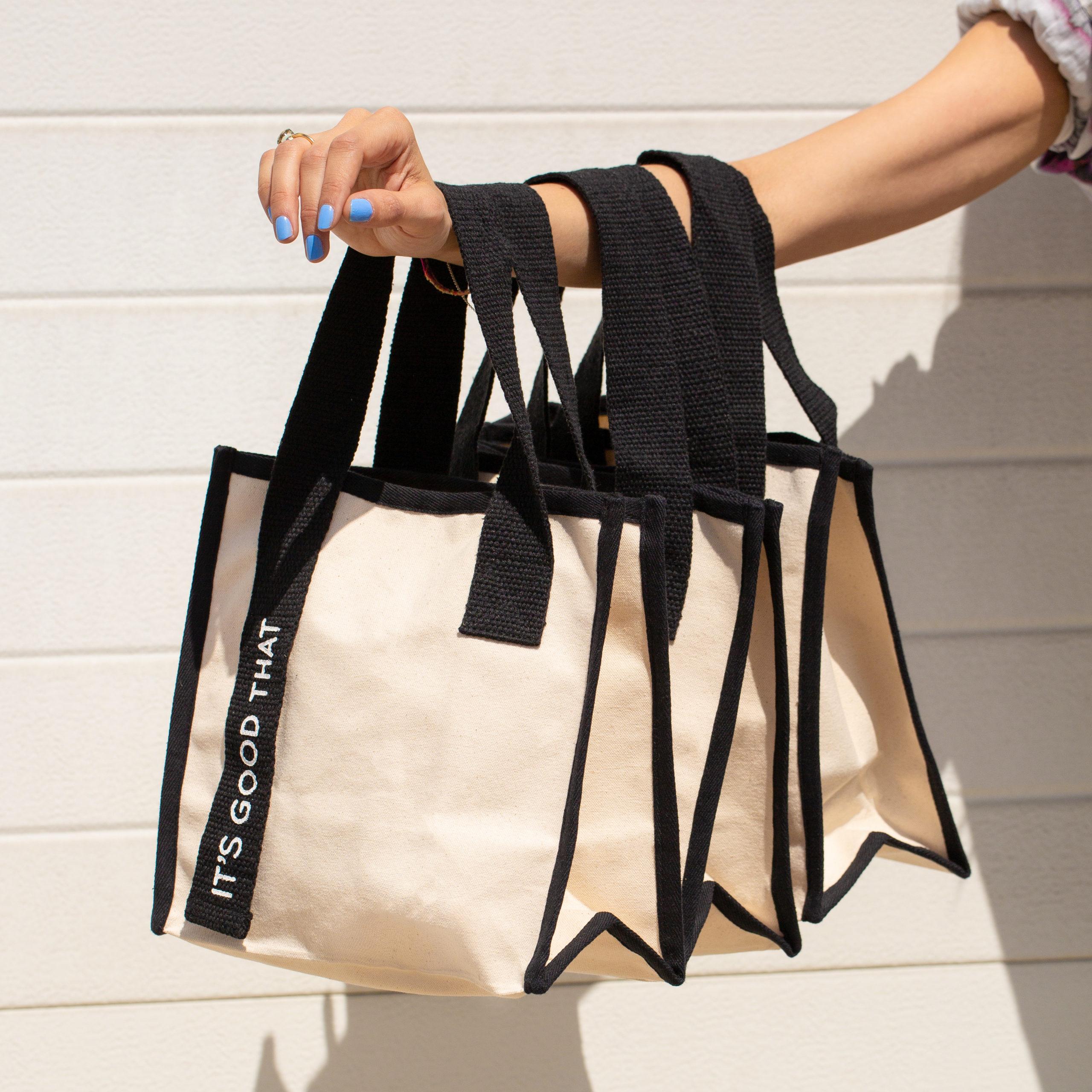 Natural Canvas Shopper bag borsa