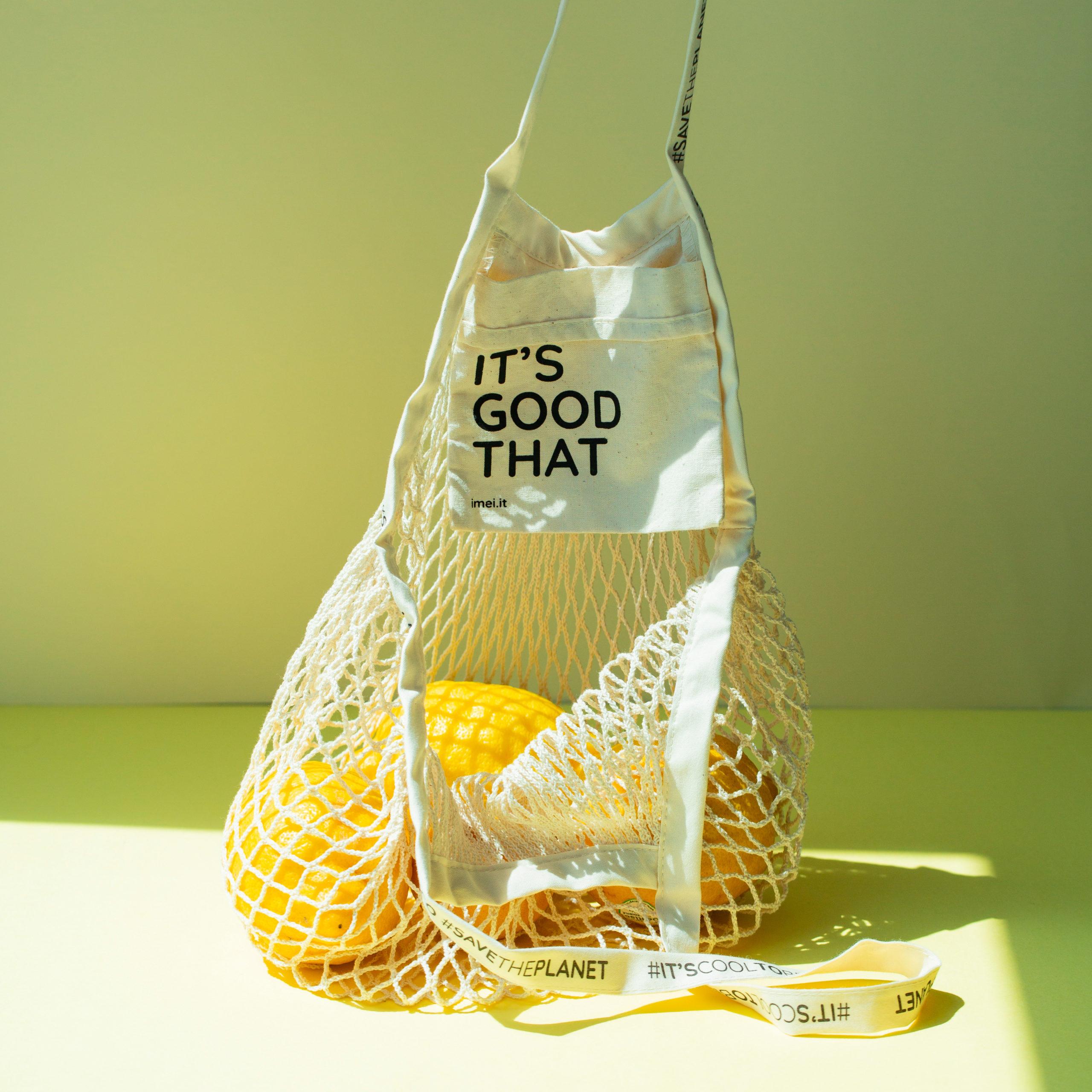 Mesh shopper bag ecofriendly