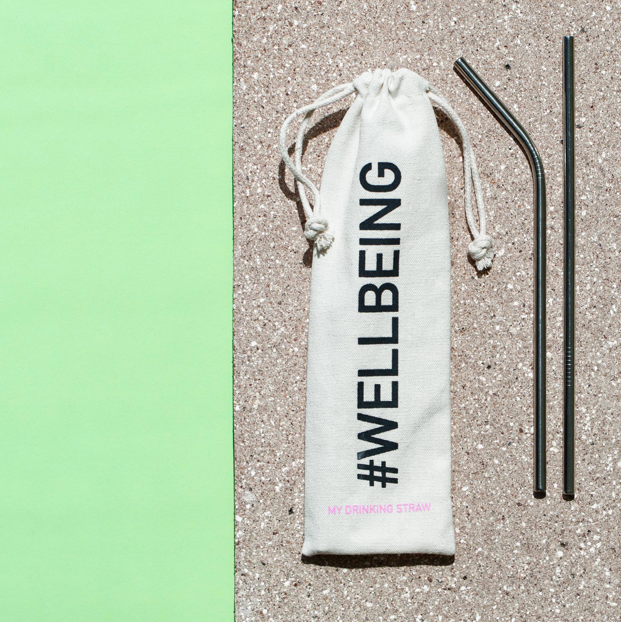 Set cannuccia straw eco-friendly