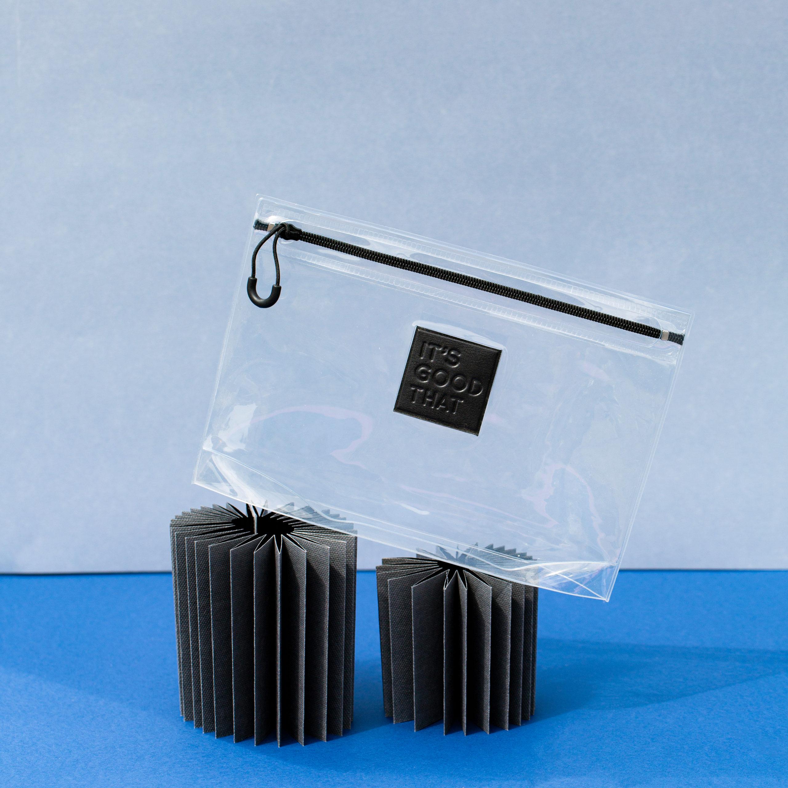 Clear PVC bag pouch